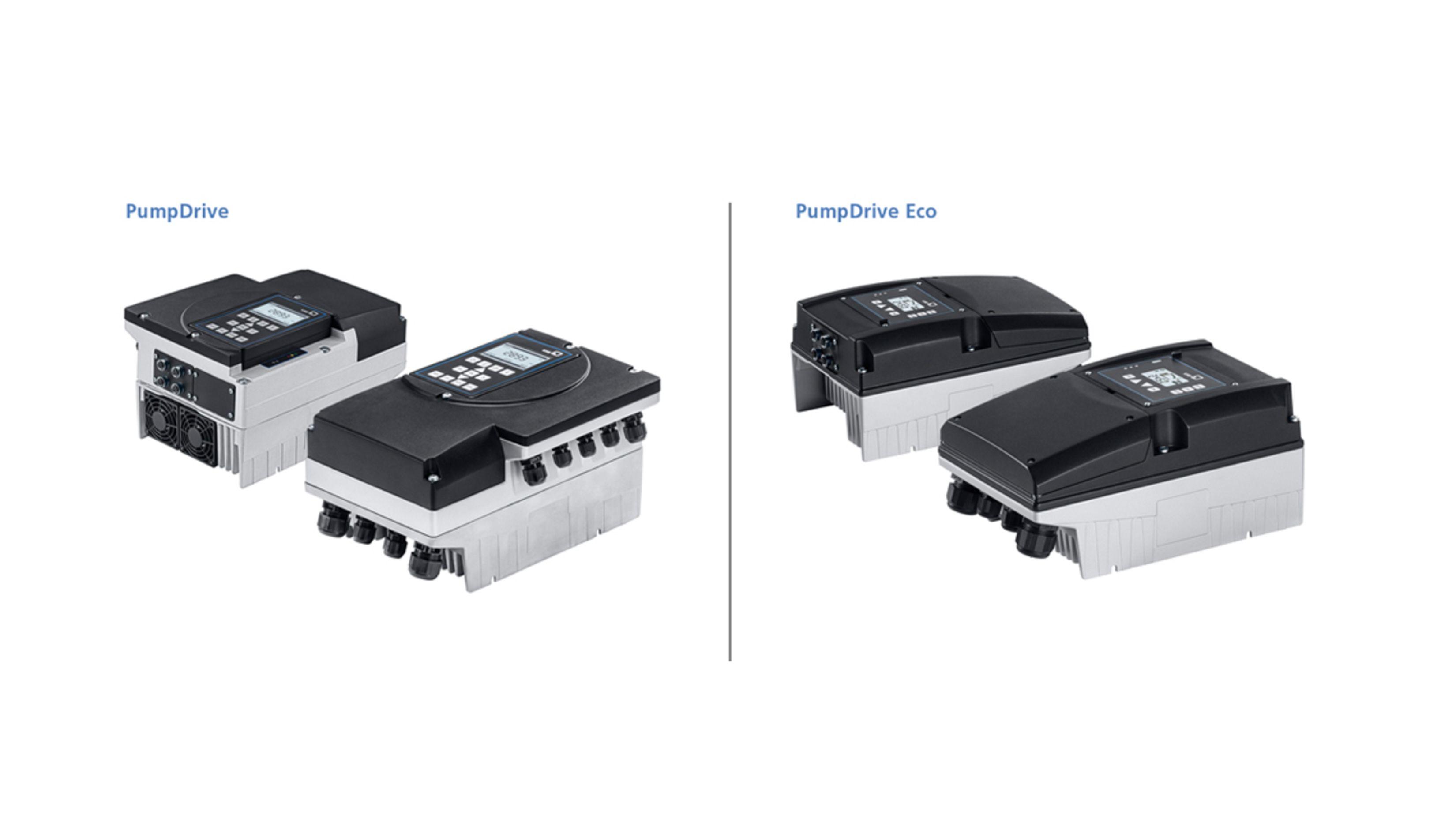 Versions PumpDrive et PumpDrive Eco