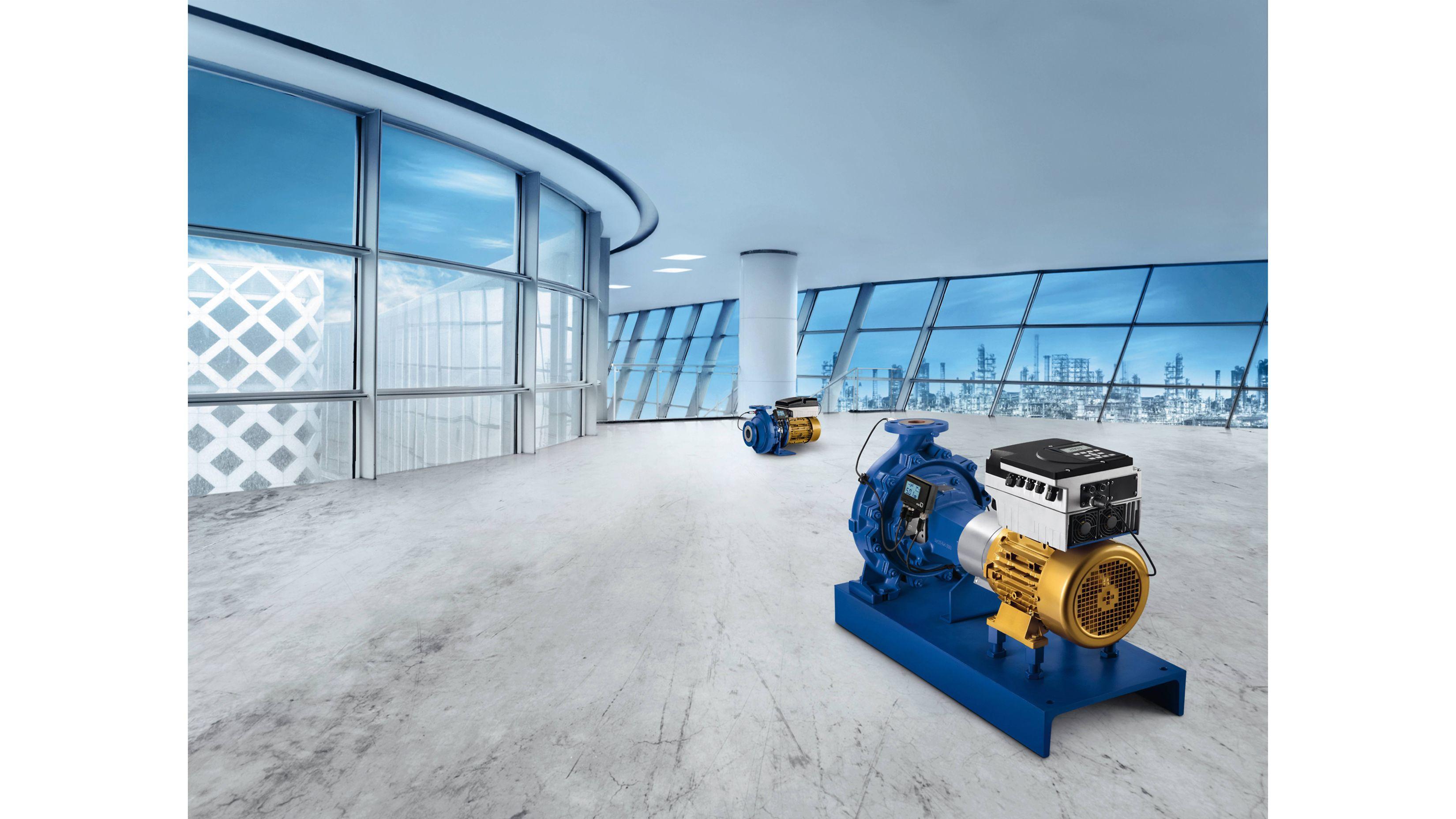 Une équipe efficace : moteur SuPremE®, PumpMeter et PumpDrive
