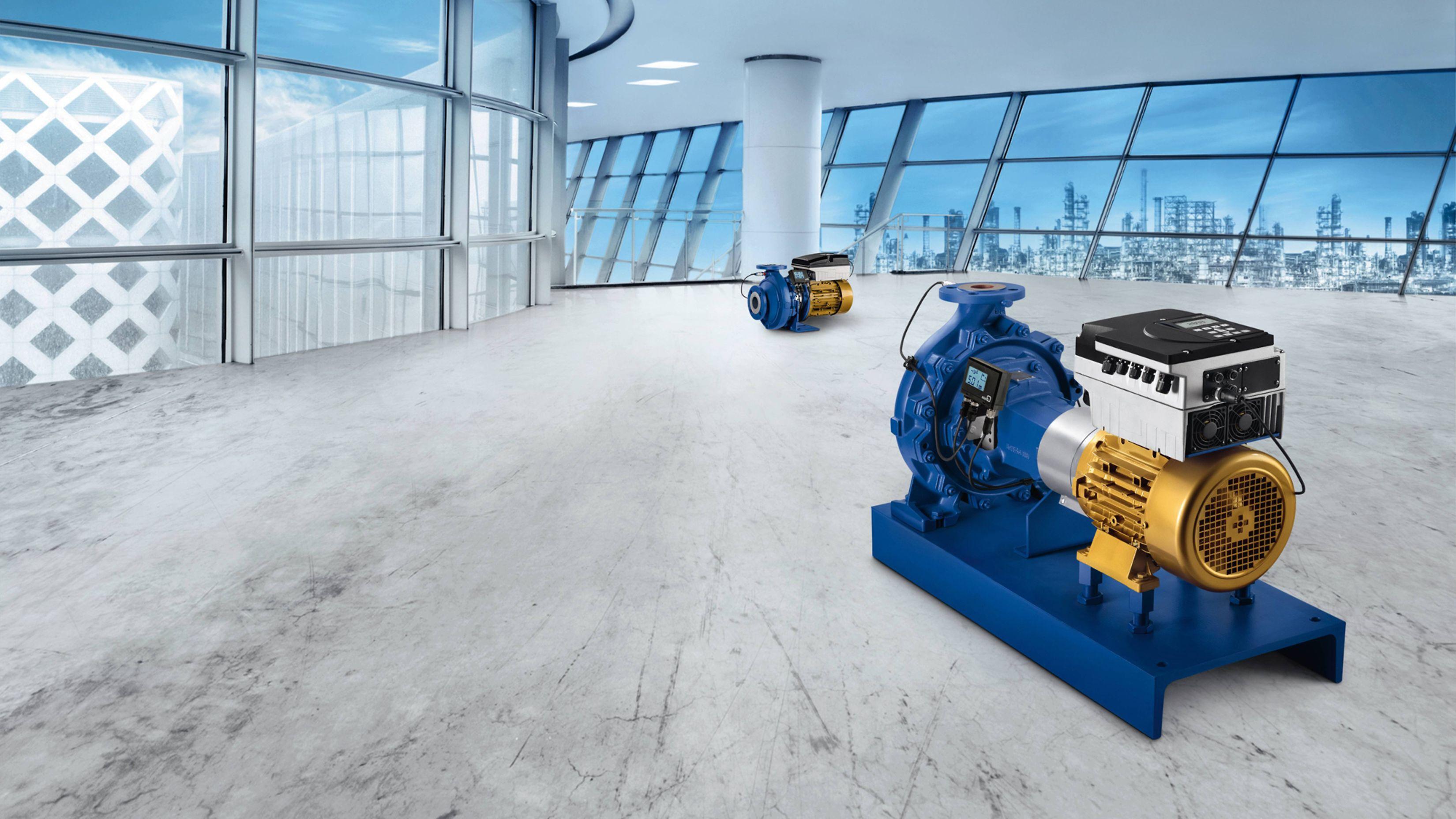 Efficiënt team: SuPremE® motor, PumpMeter en PumpDrive